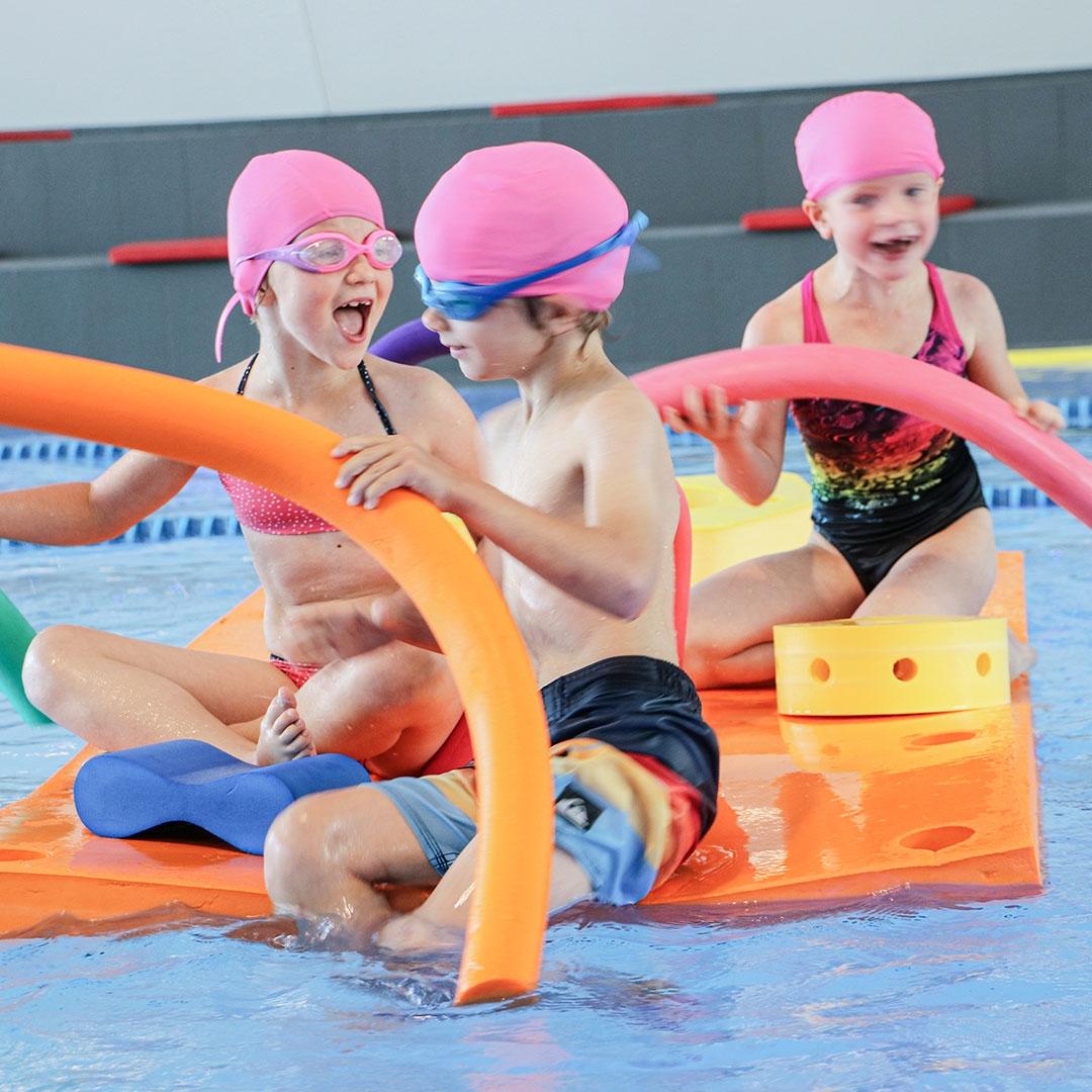 Kids Mania play fun courchevel aquamotion kids activities children climbing surf